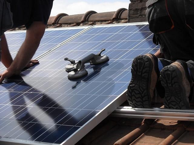 solar panels battery